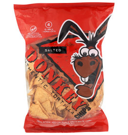 DONKEY CHIPS® DONKEY CHIPS SALTED AUTHENTIC TORTILLA CHIPS, 14 OZ.
