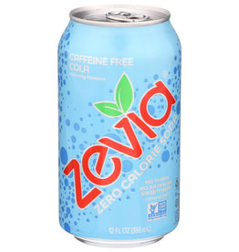 ZEVIA® ZEVIA SODA, COLA, CAFFEINE-FREE, 12 FL. OZ.