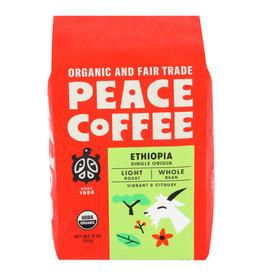 PEACE COFFEE Peace Coffee Ethiopian Whole Bean