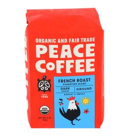 PEACE COFFEE Peace Coffee French Roast Ground