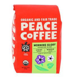 PEACE COFFEE Peace Coffee Morning Glory Whole Bean
