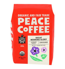 PEACE COFFEE Peace Coffee Morning Glory Decaf Ground