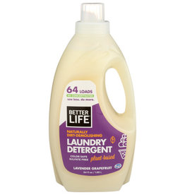 BETTER LIFE® BETTER LIFE LAUNDRY DETERGENT WITH LAVENDER AND GRAPEFRUIT, 64 FL. OZ.