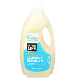 BETTER LIFE® BETTER LIFE UNSCENTED LAUNDRY DETERGENT, 64 FL. OZ.