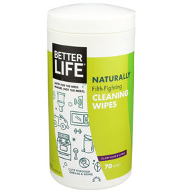 BETTER LIFE BETTER LIFE CLEANING WIPES, 70 WIPES