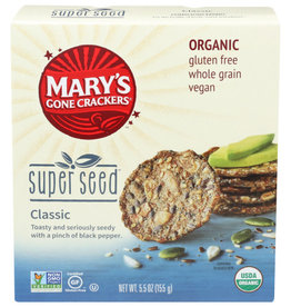 MARY'S GONE CRACKERS® MARY'S GONE CRACKERS SUPER SEED CLASSIC CRACKERS, 5.5 OZ.