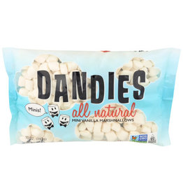 DANDIES DANDIES MINI MARSHMALLOWS, VANILLA, 10 OZ.