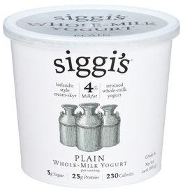 SIGGI'S® SIGGI'S WHOLE-MILK YOGURT, PLAIN, 24 OZ.