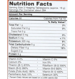NOW FOODS M Red Star Nutritional Yeast 10#