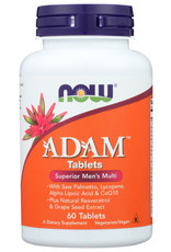 NOW® NOW ADAM TABLETS DIETARY SUPPLEMENT, 60 COUNT