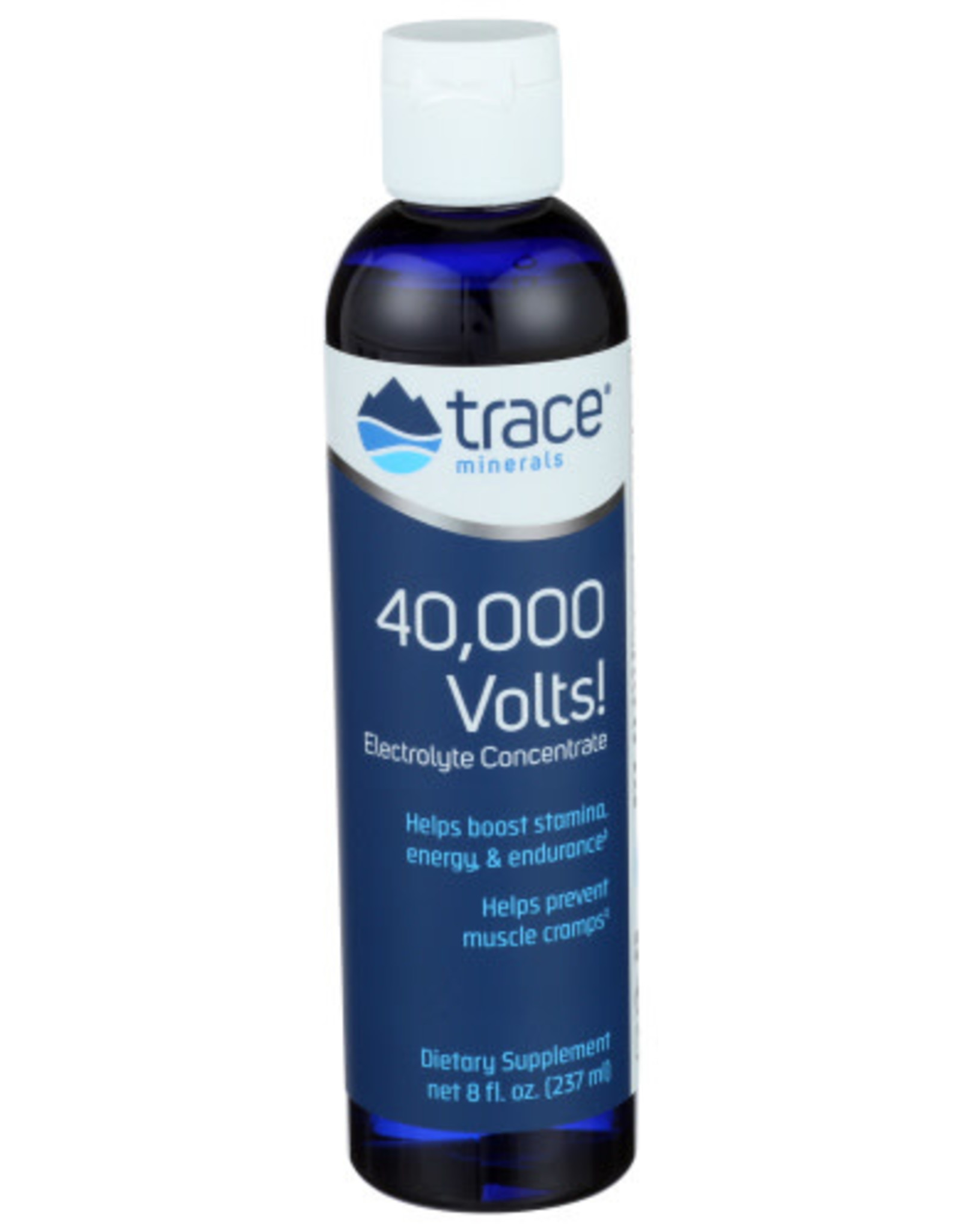 TRACE MINERALS Trace Minerals 40,000 Volts Electrlyte Concentrate 8 oz