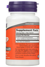 NOW® NOW FOODS 5-HTP 50 MG, 30 CAPSULES