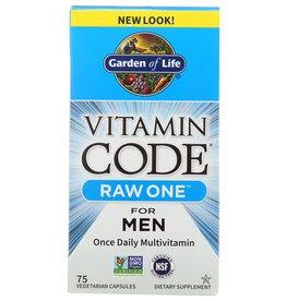 GARDEN OF LIFE® Garden of Life Vitamin Code Raw One for Men 75 V Caps