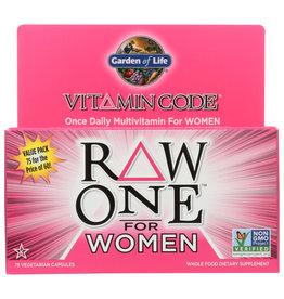 GARDEN OF LIFE® Garden of Life Vitamin Code Raw One for Women 75 V Caps