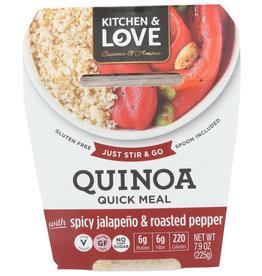 CUCINA & AMORE QUINOA MEAL SPCY JLPNO & 7.9 OZ