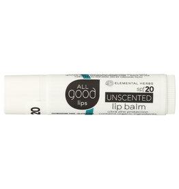 All Good Unscented Lip Balm