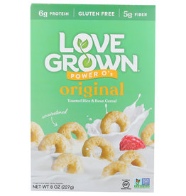 Love Grown Cereal Power O's Orgnl - 8 OZ