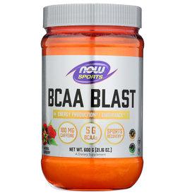 Now BCAA Blast Natural Raspberry Powder 21.16 oz