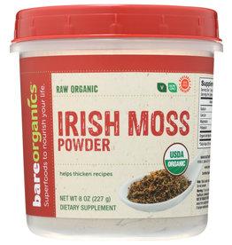 BARE ORGANICS Organic Irish Moss Powder 8 oz