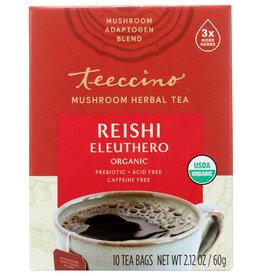 Teeccino Mushroom Herbal Tea Reishi Eleuthero