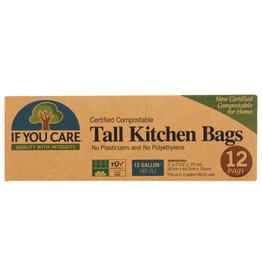 IF YOU CARE BAG KTCHN 13GAL TALL CMPSTBLE 12 BG