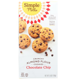 SIMPLE MILLS COOKIES CRNCHY CHOC CHIP 5.5 OZ