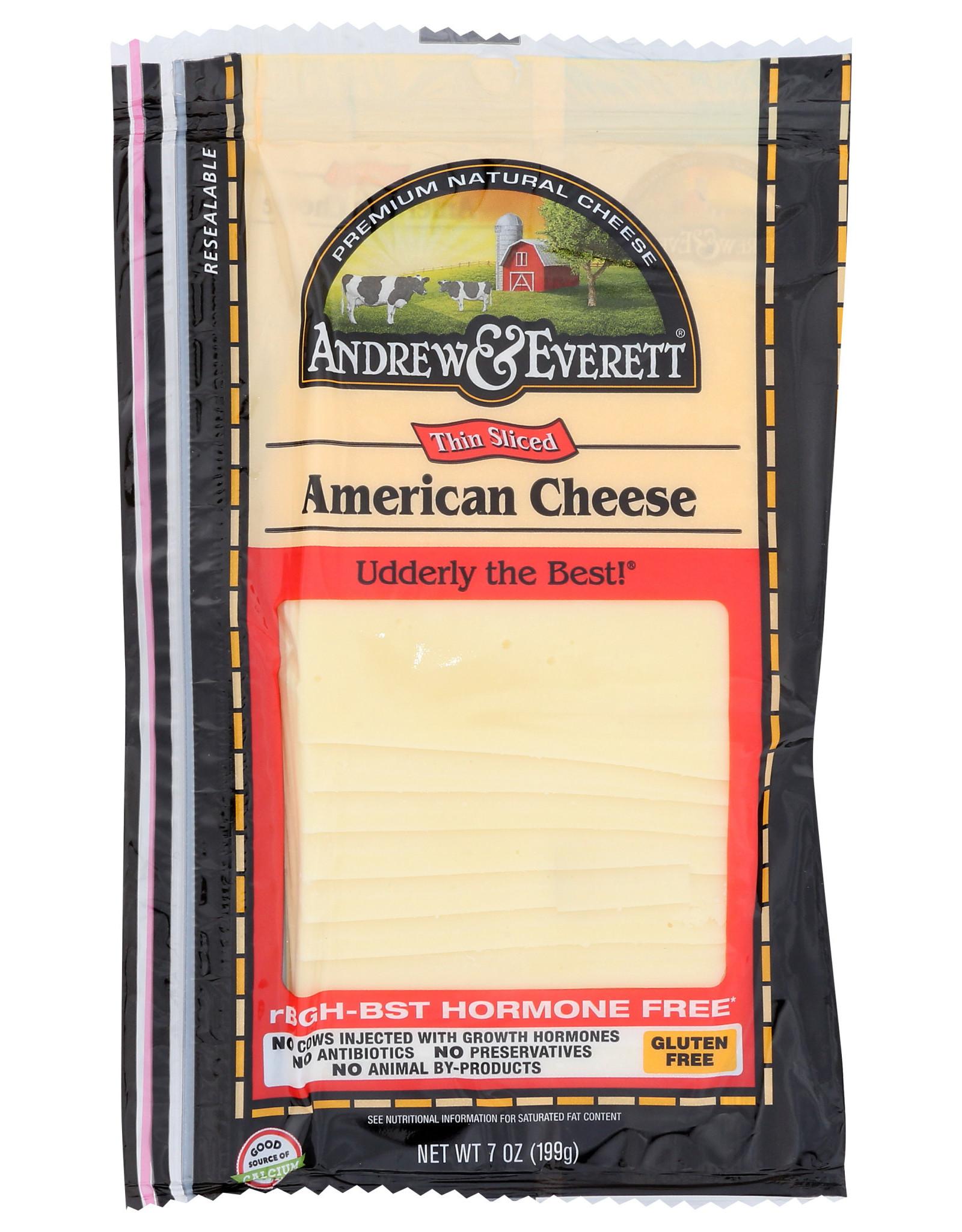 Andrew & Everett Cheese White American