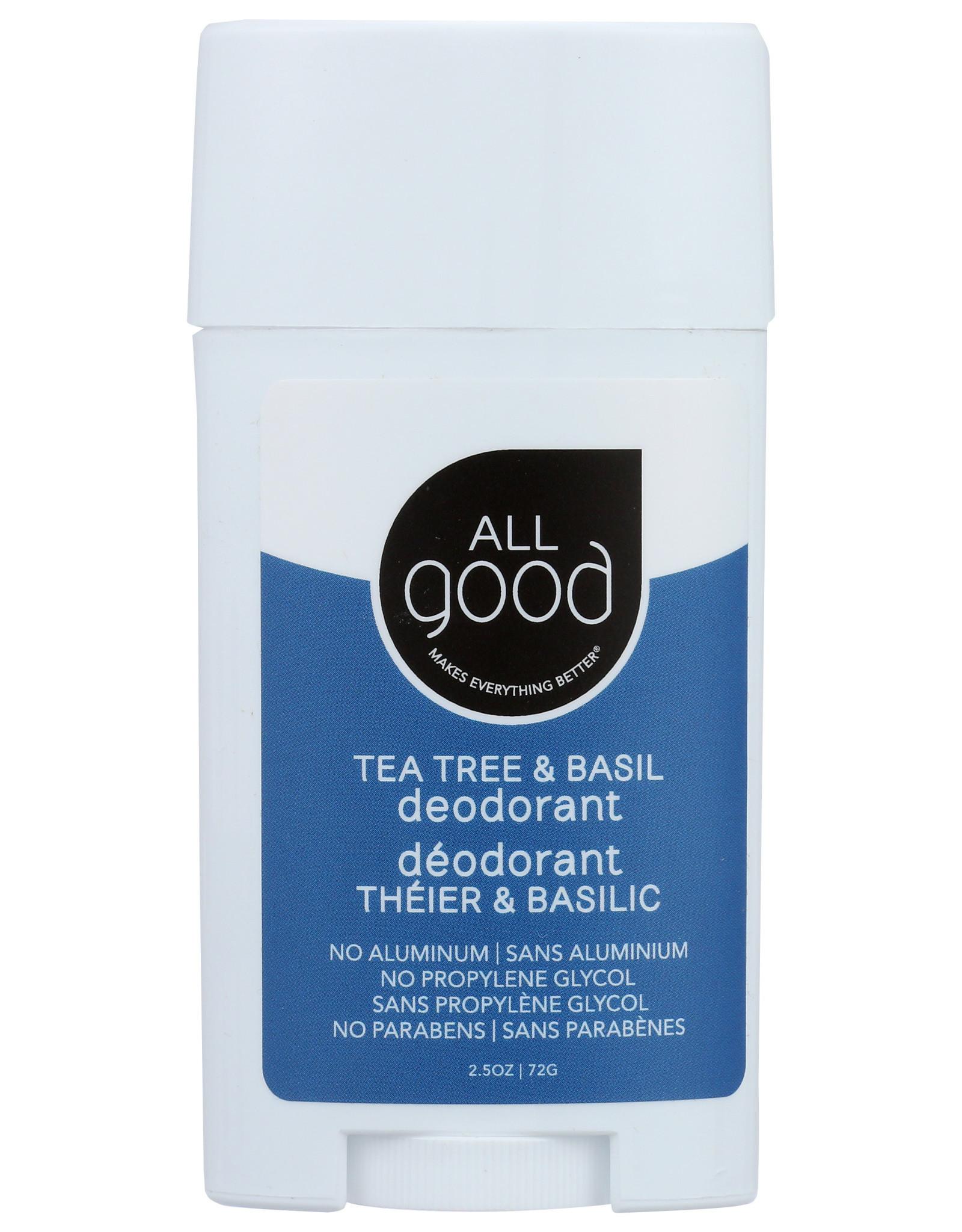 All Good Tea Tree & Basil Deoderant