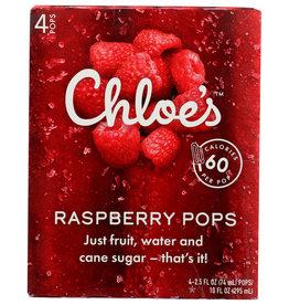 CHLOES FRUIT POP-RASPBERRY 10 OZ