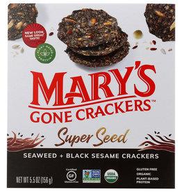 MARYS GONE CRACKERS CRACKER SWD & BK SSME ORG 5.5 OZ
