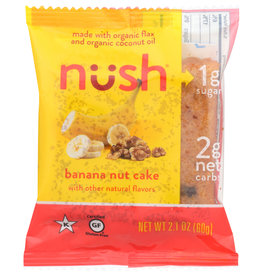 NUSH NUSH CAKE SLICE BNANA NUT 2.1 OZ