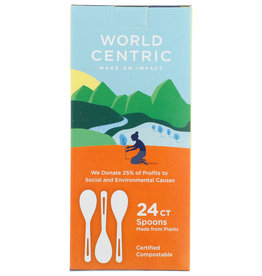 World Centric Spoons 24 ct