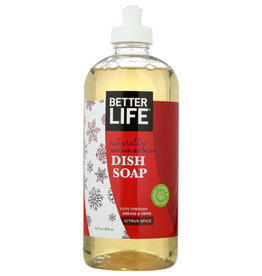 BETTER LIFE DISH SOAP CTRS SPICE