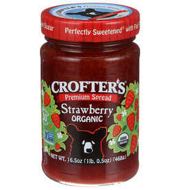 CROFTERS CONSERVE STRWBRRY ORG 16.5 OZ