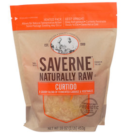 SAVERNE CURTIDO RAW NATURAL 16 OZ