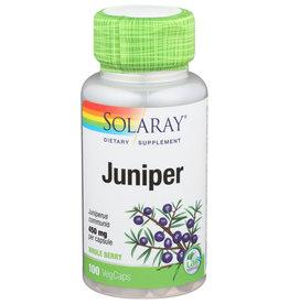 Solaray Juniper 450mg 100 Vegetarian Capsules
