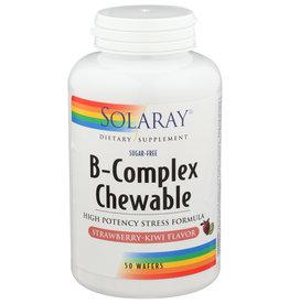 Solaray B-Complex 50 Strawberry Chewables