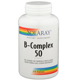 Solaray B-Complex 50 250 Veg Capsules