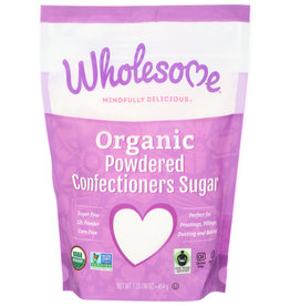 Wholesome OG Powdered Confectioners Sugar 16 oz