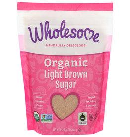 Wholesome Org. Lite Brown Sugar, 1.5lb