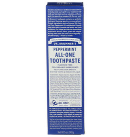 DR BRONNER Dr. Bronners Peppermint All-One Toothpaste 5 oz