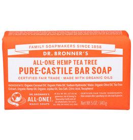 DR B'S Dr Bronner BAR SOAP TEA TREE 5 OZ