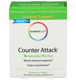 Rainbow Light Counter Attack Immune Support 30 Vegan Tablets