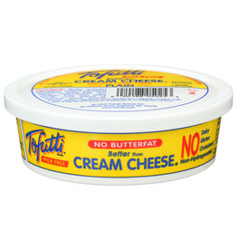 TOFUTTI Cream Cheese NONHYDROG 8 OZ