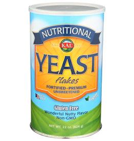 Kal GF Unsweetened Yeast Flakes 22 oz