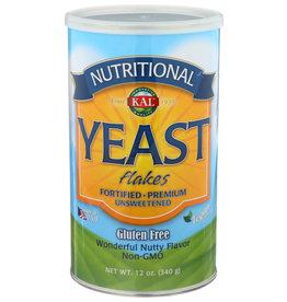 Kal GF Yeast Flakes Unsweetened 12 oz