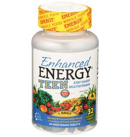 Kal Enhanced Energy Teen 60 Vegetarian Tablets