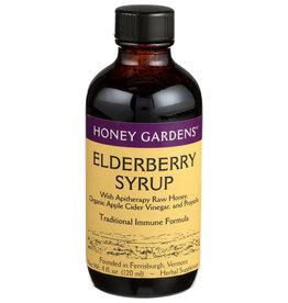 Honey Gardens Elderberry Syrup 4 oz