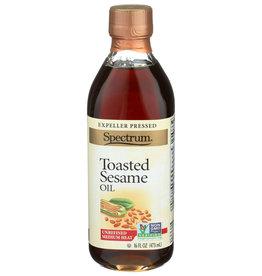 Spectrum Toasted Sesame Oil 16 oz