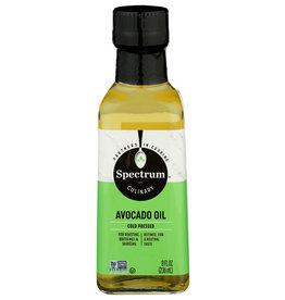 SPECTRUM NATURALS OIL AVOCADO REFINED 8 OZ